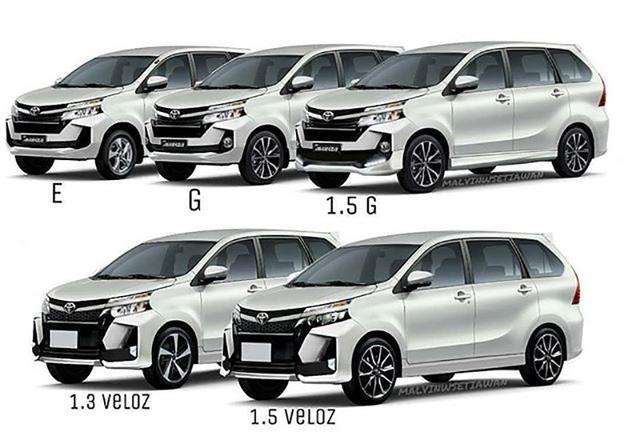 Các mẫu Avanza (và 1.3L với tên Veloz) được giới thiệu trong các mẫu quảng cáo tại Indonesia và Malaysia.