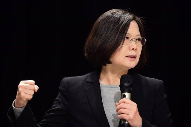 Nhà lãnh đạo Đài Loan Thái Anh Văn (Ảnh: SCMP)