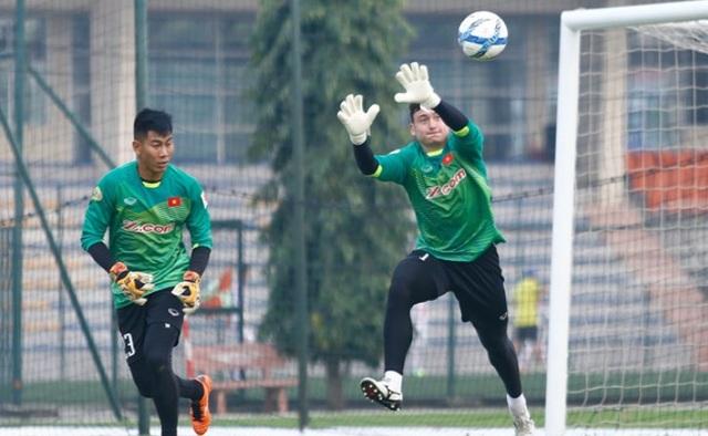 Cả Tuấn Mạnh lẫn Văn Lâm đều sẵn sàng cho Asian Cup 2019
