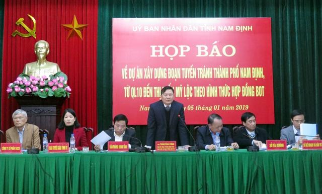 """Tỉnh Nam Định cho biết sẽ đồng thời thực hiện lộ trình minh bạch thông tin để gỡ """"nút thắt"""" tại Trạm BOT Mỹ Lộc."""