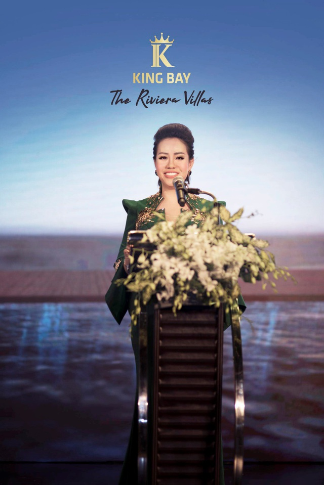Phượng hoàng BĐS Nguyễn Thị Thanh Tú phát biểu ra mắt The Riviera Villas