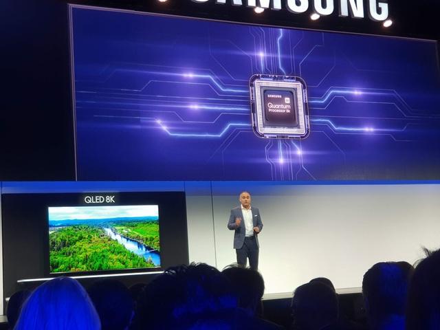 Samsung trình diễn TV 8K lớn nhất 98 inch đầu tiên trên thế giới - Ảnh 3.