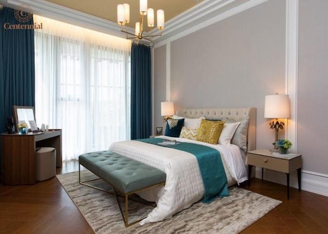 Thiết kế của căn hộ 2 phòng ngủ mang phong cách Á Đông thanh lịch