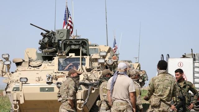 Mỹ nêu điều kiện rút quân khỏi Syria - Ảnh 1.