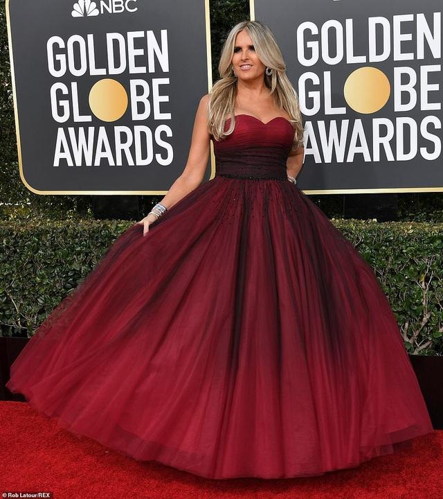 Những bộ váy bị chê xấu trên thảm đỏ Quả cầu vàng - Ảnh 5.