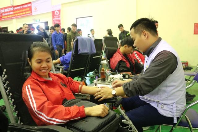 Tuổi trẻ tỉnh Bắc Ninh hăng hái tham gia hiến máu