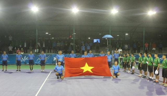 Giải Quần vợt nhà nghề Đà Nẵng - Việt Nam mở rộng 2019 vừ khai mạc tối 6/1 tại Cung Thể thao Tiên Sơn, Đà Nẵng