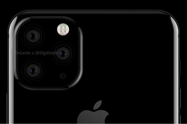 Thiết kế được rò rỉ từ @OnLeaks về mẫu iPhone 2019 của Apple.
