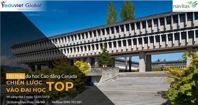Du học Canada - Học bổng trường top 1, kiếm việc lương cao, định cư dễ dàng - 1