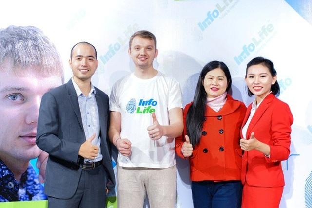 Alexander Zubarev nhà sáng lập sinh trắc vân tay Infolife có mặt tại Việt Nam - Ảnh 2.