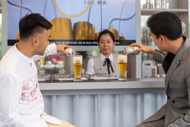 Sau 5 ngày mở cửa, Sapporo Premium Bar mang lại những trải nghiệm khác biệt nào? - Ảnh 3.