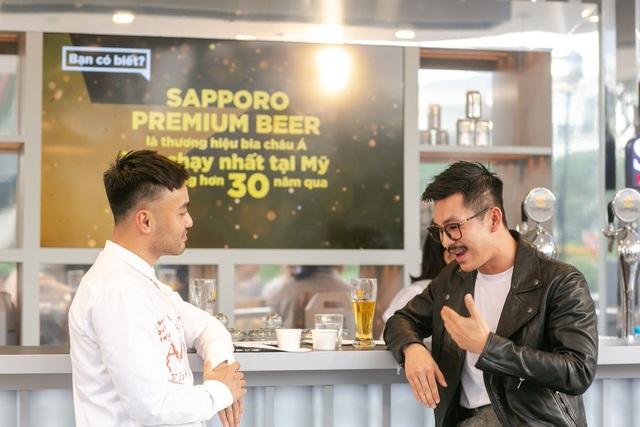 Sau 5 ngày mở cửa, Sapporo Premium Bar mang lại những trải nghiệm khác biệt nào? - Ảnh 4.