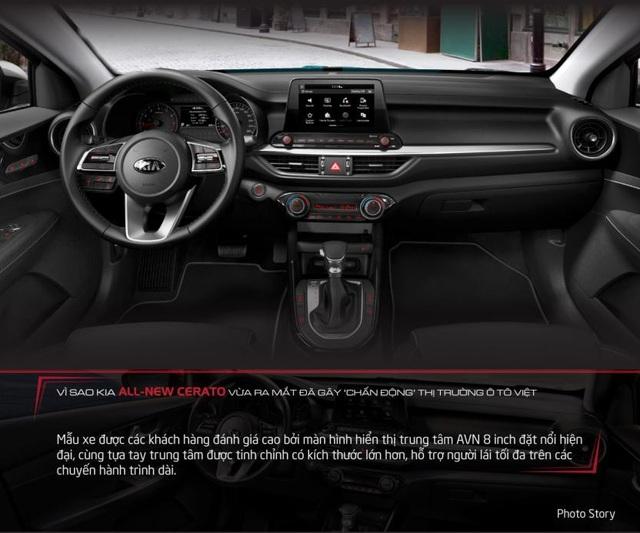Ngoài những tính năng về trang bị tiện nghi, All-New Cerato còn sở hữu động cơ vận hành ổn định, tạo sự thoải mái cho cả người lái lẫn hành khách.