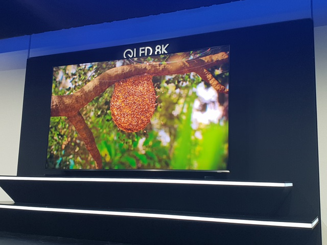 Samsung trình diễn TV 8K lớn nhất 98 inch đầu tiên trên thế giới - Ảnh 5.