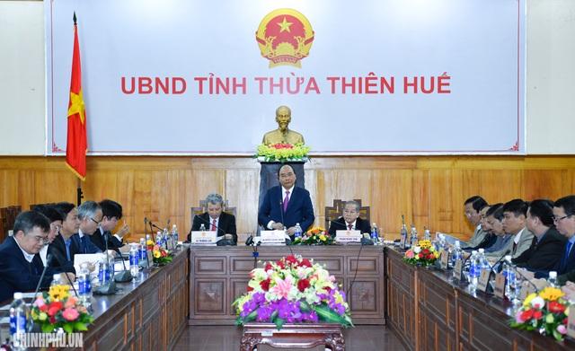 Thủ tướng đề nghị Thừa Thiên - Huế cần nỗ lực để đạt tăng trưởng về du lịch cao hơn cả nước