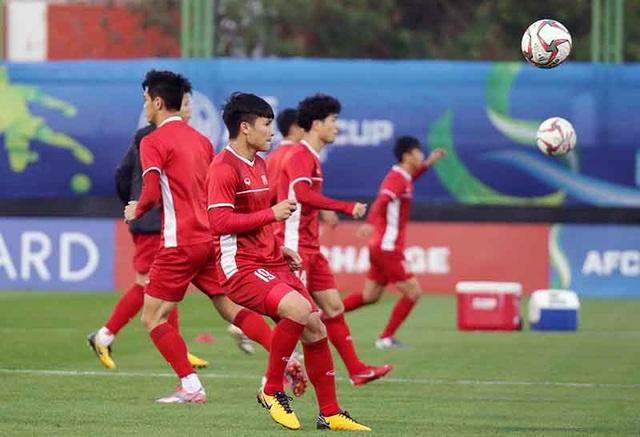 Quang Hải: Cầu thủ Việt Nam không ngán Iran - Ảnh 1.