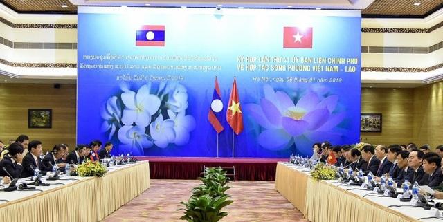 Việt Nam - Lào đoàn kết đặc biệt, hợp tác toàn diện trên mọi lĩnh vực