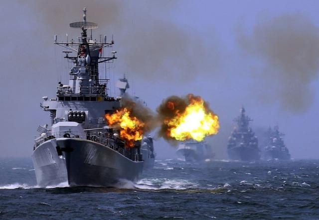 Tàu sân bay Mỹ sẵn sàng đối phó mối đe dọa từ Trung Quốc - Ảnh 2.