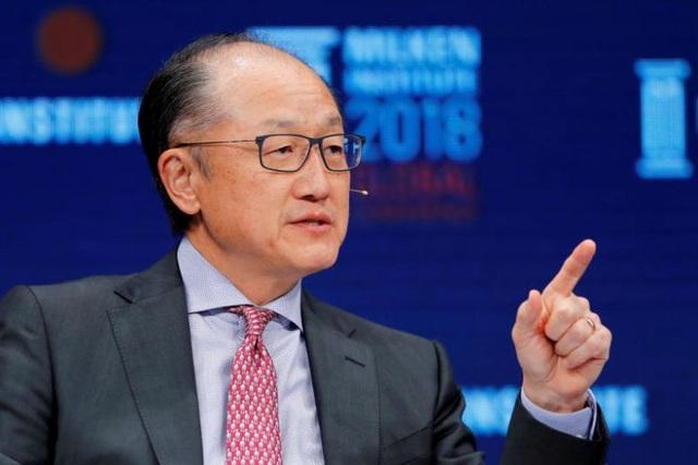 Chủ tịch Ngân hàng thế giới (World Bank) Jim Yong Kim (Ảnh: Reuters)