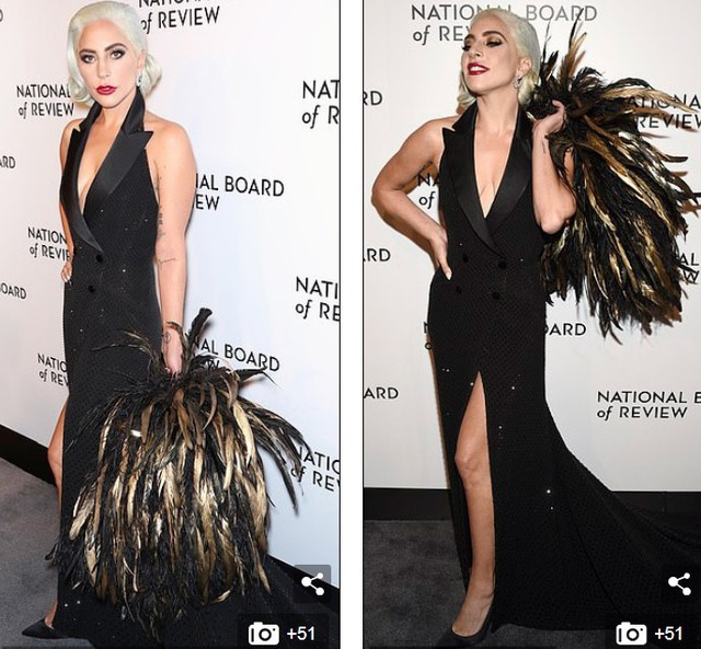Lady Gaga quyến rũ với váy xẻ sâu - Ảnh 5.