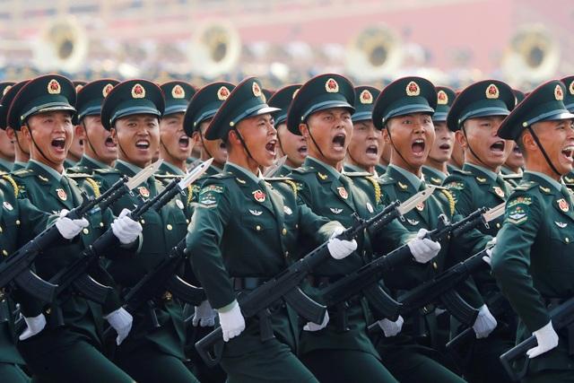 15.000 binh sĩ Trung Quốc duyệt binh mừng 70 năm Quốc khánh - 11