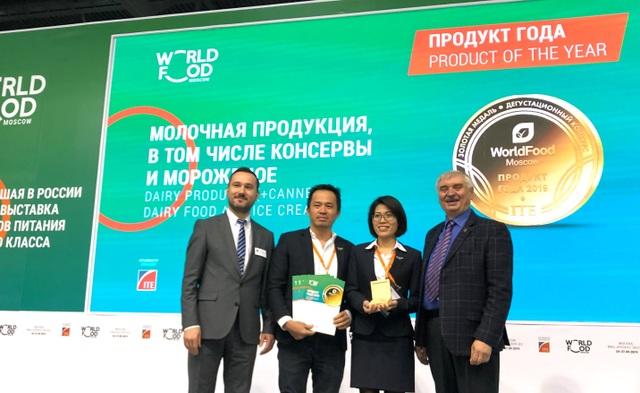 """Sữa chua sệt mới lạ và đột phá từ TH giành giải """"Sản phẩm của năm"""" tại Moscow - 1"""