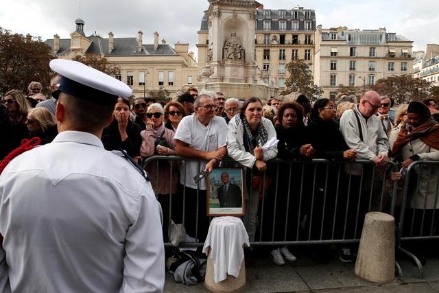 Lãnh đạo thế giới tiễn biệt cố Tổng thống Pháp Jacques Chirac - 10