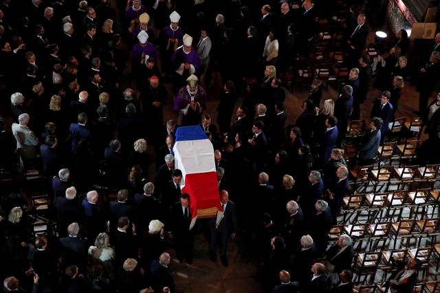 Lãnh đạo thế giới tiễn biệt cố Tổng thống Pháp Jacques Chirac - 11