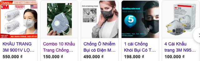 """Gần nửa triệu một hộp khẩu trang giấy, dân Hà Nội """"cắn răng"""" mua về chống bụi mịn - 2"""