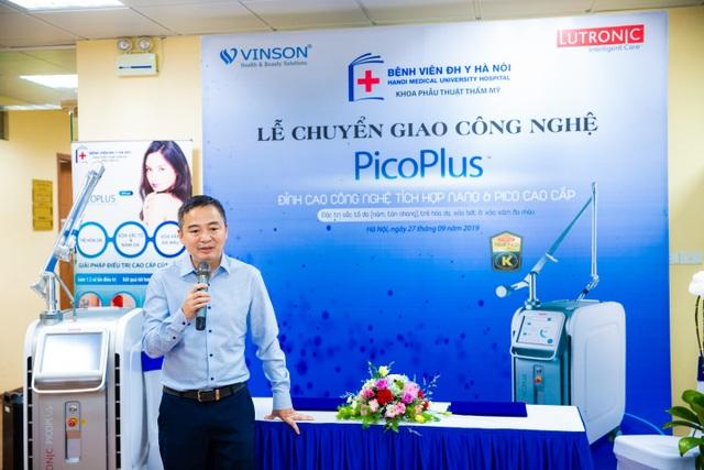 Công nghệ laser PicoPlus – mang lại nét đẹp tuổi thanh xuân đã được chuyển giao đến khoa Phẫu Thuật Tạo Hình Thẩm Mỹ - Bệnh Viện Đại Học Y Hà Nội - 1