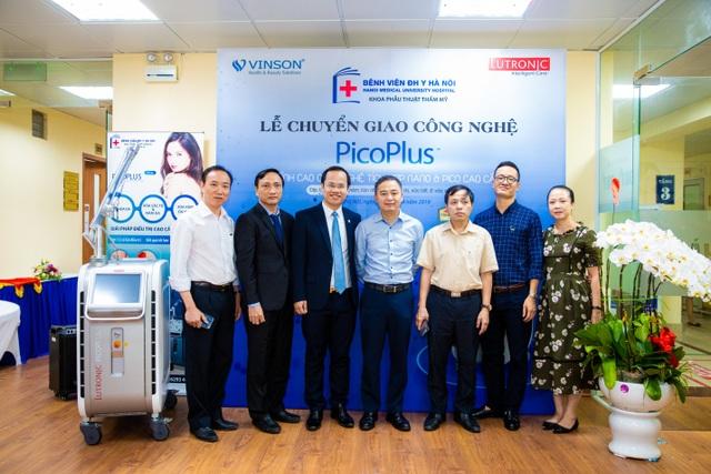 Công nghệ laser PicoPlus – mang lại nét đẹp tuổi thanh xuân đã được chuyển giao đến khoa Phẫu Thuật Tạo Hình Thẩm Mỹ - Bệnh Viện Đại Học Y Hà Nội - 3