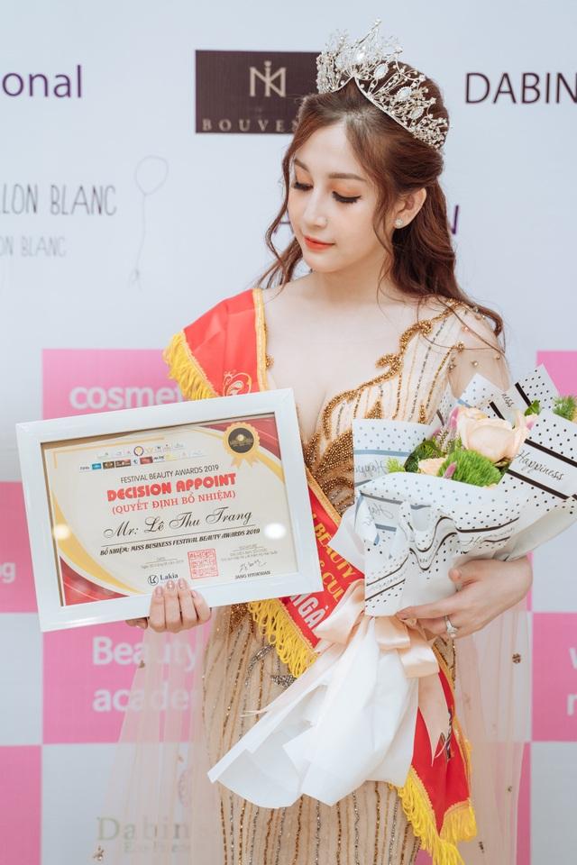 Doanh nhân Sophie Lê Trang dành cú đúp giải thưởng tại Festival Beauty Awards 2019 - 6