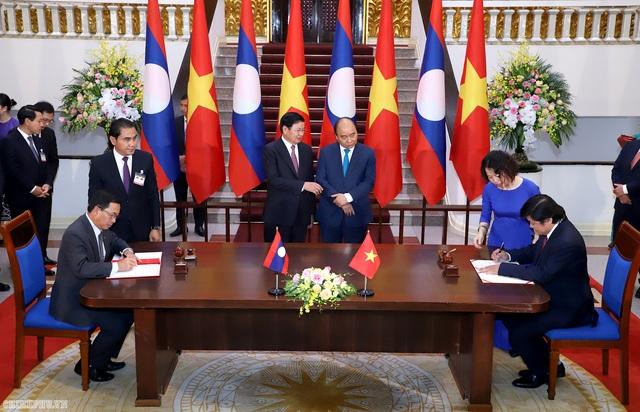 Thủ tướng Việt - Lào hội đàm: Khẳng định tầm quan trọng của hoà bình trên Biển Đông! - 3