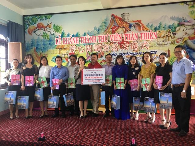 Tổ chức Đài Loan tặng thư viện và hỗ trợ hoạt động đọc sách cho 33 trường học tại Quảng Bình - 1