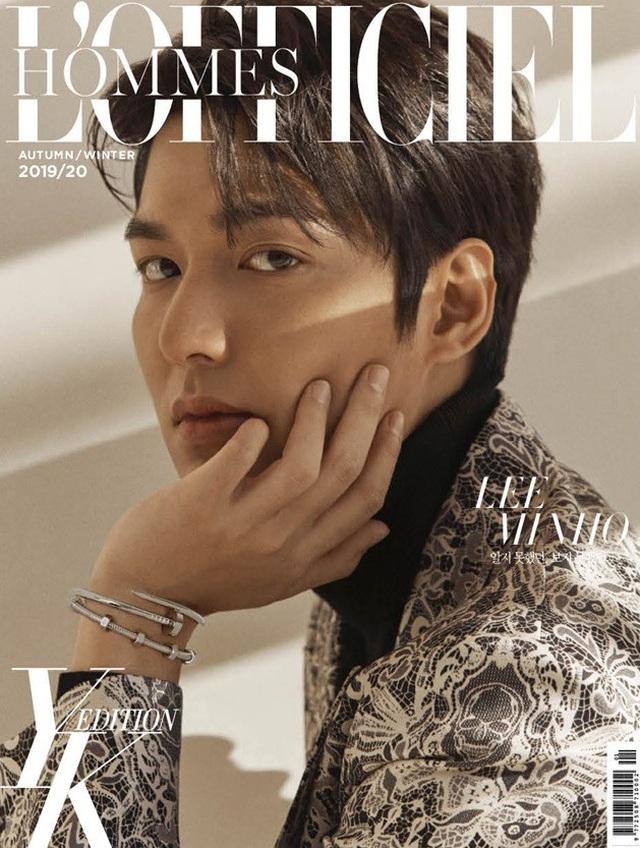 Mỹ nam Lee Min Ho trở lại cuốn hút và nói về tương lai - 1