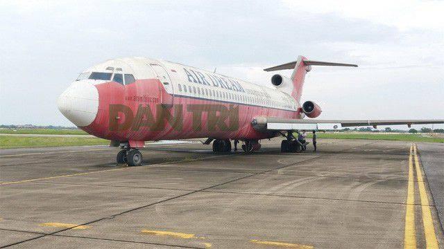 """Cục Hàng không tiếp nhận đề nghị """"đổi bánh, kẹo lấy máy bay"""" Boeing 727 tại Nội Bài - 1"""
