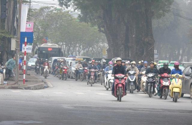 Ô nhiễm không khí tại Hà Nội: Phòng GDĐT khuyến cáo đến các trường học - 1