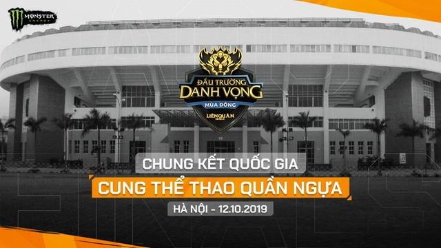 VCK đấu trường danh vọng mùa đông 2019 sẽ được tổ chức tại cung thể thao Quần Ngựa, Hà Nội - 1