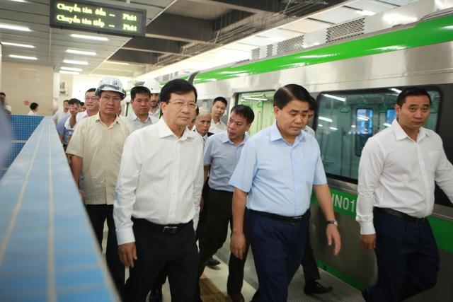 Phó Thủ tướng nói gì với Tổng thầu Trung Quốc về đường sắt Cát Linh - Hà Đông? - 1