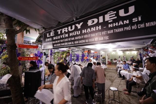 Lễ tang ông Nguyễn Hữu Hạnh: Mãi ghi nhớ những đóng góp trong cuộc kháng chiến thống nhất Tổ quốc - 6