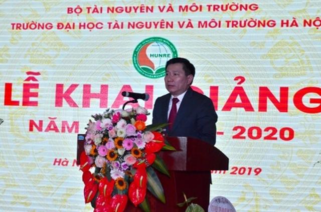 Trường Đại học Tài nguyên và Môi trường Hà Nội khai giảng năm học mới 2019 - 2020 - 1