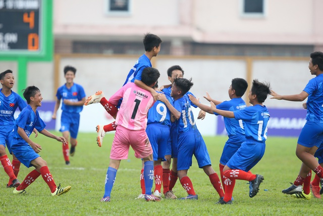 Chân dung đội bóng cuối cùng góp mặt tại vòng chung kết U13 Yamaha Cup 2019 - 1