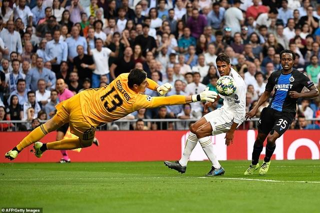 """Casemiro ghi bàn, Real Madrid """"hút chết"""" trước Club Brugge - 4"""