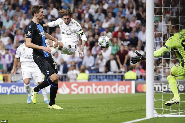 """Casemiro ghi bàn, Real Madrid """"hút chết"""" trước Club Brugge - 8"""