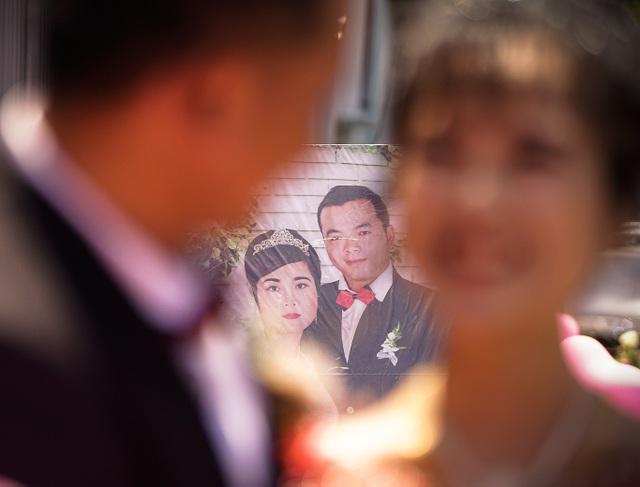 Nghẹn ngào đám cưới nơi mái ấm tình thương - 5