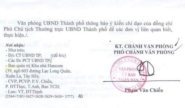 Vụ cư dân Hancom kêu cứu đỏ tòa nhà: Yêu cầu báo cáo Thủ tướng kết quả giải quyết - 3