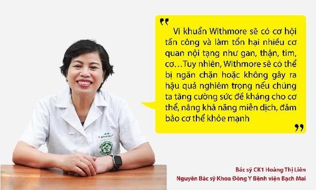 Bác sỹ đầu ngành chia sẻ cách ứng phó và dự phòng nỗi khiếp sợ mang tên Withmore - 2