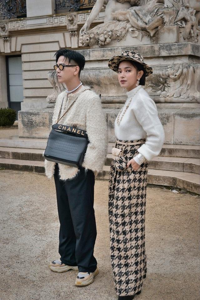 Châu Bùi, Khánh Linh: 2 fashionista Việt ghi dấu ấn tại thánh địa thời trang Paris, Milan - 4