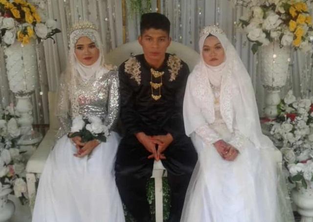 Đám cưới có 2 cô dâu kỳ lạ ở Malaysia - 2