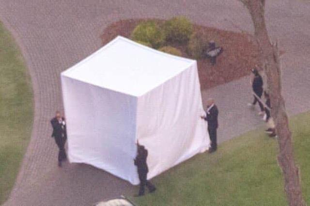 Đám cưới Justin Bieber: Cô dâu trốn trong chiếc lồng siêu to khổng lồ để tránh paparazzi - 2